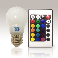 2W LED Remote Control RGB